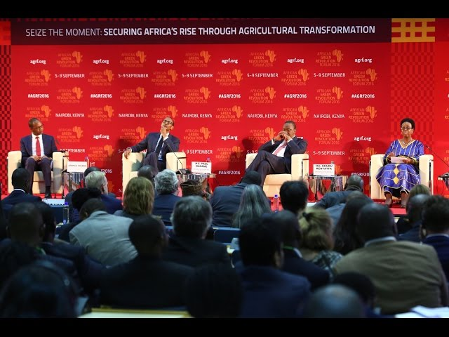AGRF 2016 Panel -  H.E. Rhoda P. Tumusiime AU Commissioner
