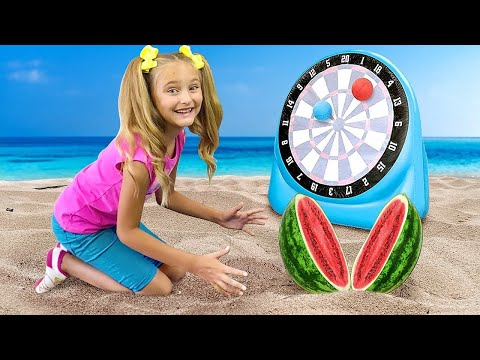 Beach song from Sasha and Max | Kids songs & Nursery Rhymes