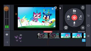 how to make unikitty intro effects