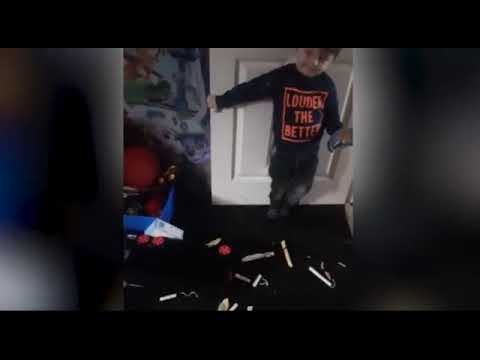 Kids' new favourite toy; mum finds sons surrounded by tampons world news flash