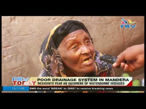 Mandera traders decry poor hygiene standards at the market