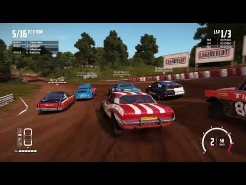 WRECKFEST game is hard and the modes to episode 1 |