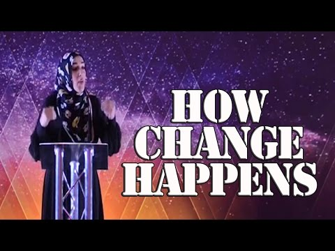 When The Heart Changes  Then All of The Actions Get changed ~Yasmin Mogahed