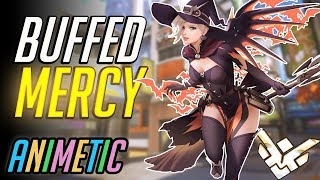1000+ hour GM Mercy main plays newly buffed Mercy - Season 13 - Overwatch