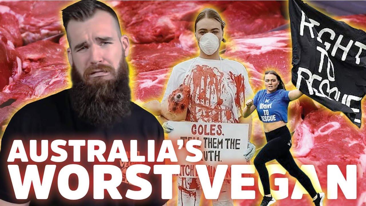 Vegan Booty - Australia's WORST VEGAN - YouTube