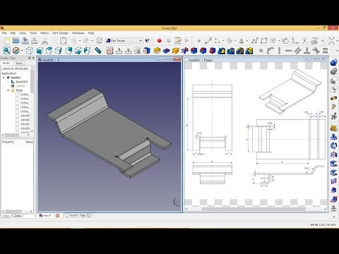 FreeCAD : Sheet Metal Manual