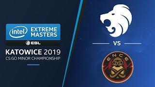 CS:GO - North vs. ENCE [Inferno] Map 2 - UB Ro2 - IEM Katowice EU Minor 2019