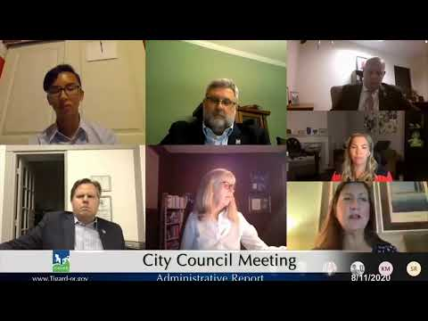 City Council Meeting Aug 11