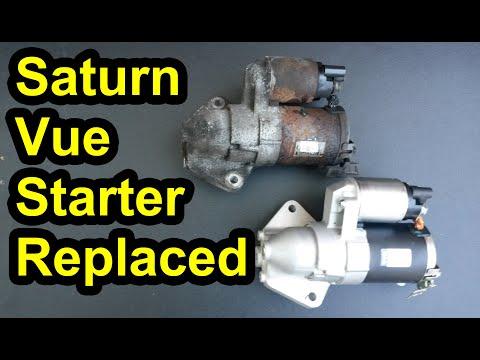 Starter Replacement 2004 – 2007 Saturn Vue – 3.5L Honda Engine