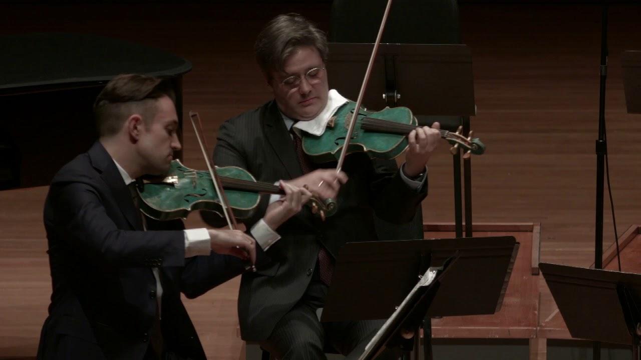 Bolcom: Three Rags for String Quartet, I. Poltergeist