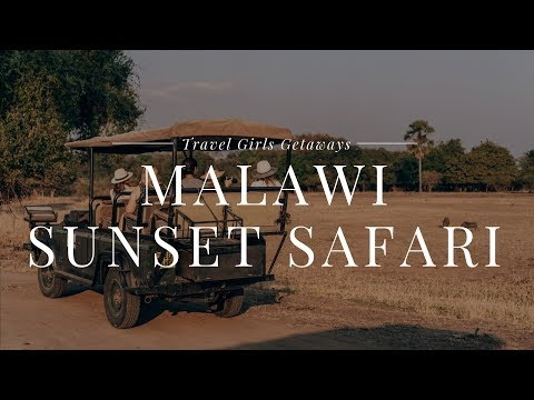 Travel Girls Getaways Malawi Evening Sunset Safari