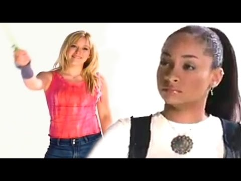 Hilary Duff & Raven AWKWARDLY Do Wand IDs in Unearthed Disney Channel Promo BTS Footage