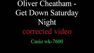 Corrected Oliver Cheatham Get Down Saturday Night keyboard notes.mp3