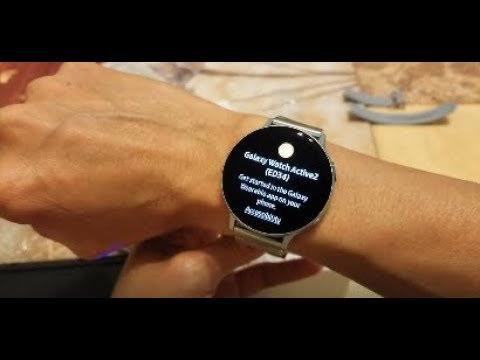 unboxing-samsung-active-2-44mm-smart-watch-+-stainless-steel-watch-band!