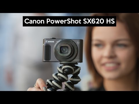 Canon PowerShot SX620 HS hands on | a BIG zoom | cheap VLOGGING camera | English review