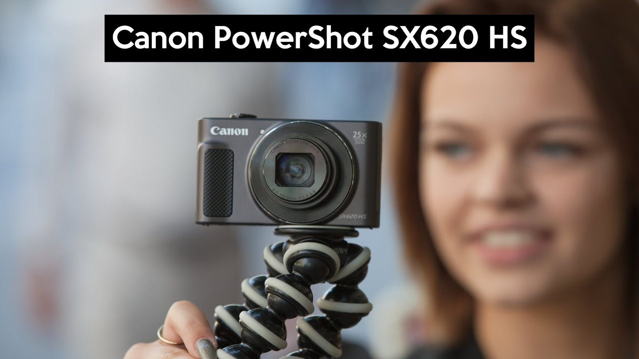 Canon PowerShot SX620 HS - First Look - YouTube