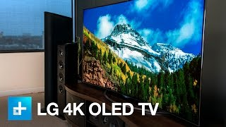 Lg 65 Inch 4k Oled Tv Hands On