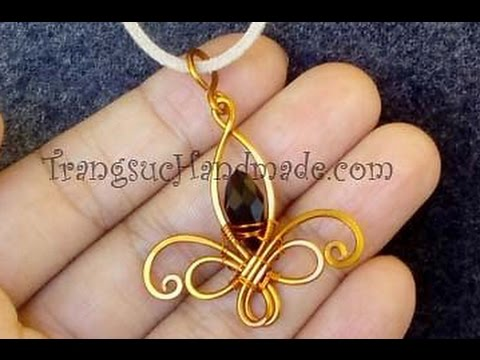 Fleur de lis pendant how to make wire jewelry 111 youtube fleur de lis pendant how to make wire jewelry 111 aloadofball Gallery