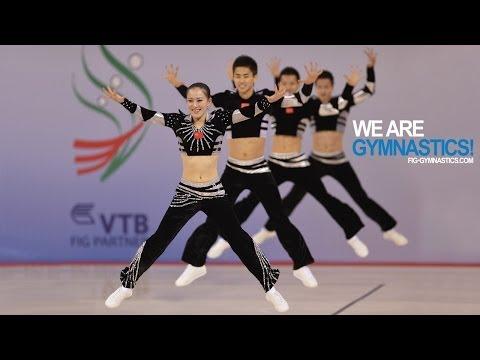 2012 Aerobic Worlds SOFIA - Aerobic Step and Dance Finals - We are Gymnastics!
