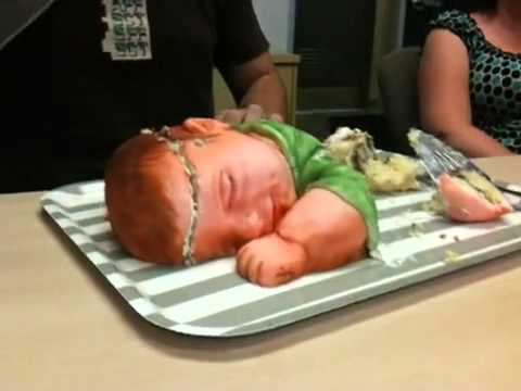 Cake Shaped like Baby!