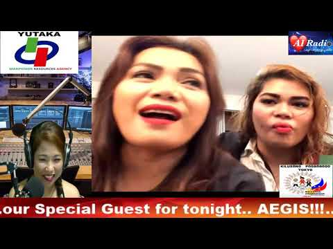 Aegis Live Interview before their Concert at the Araneta