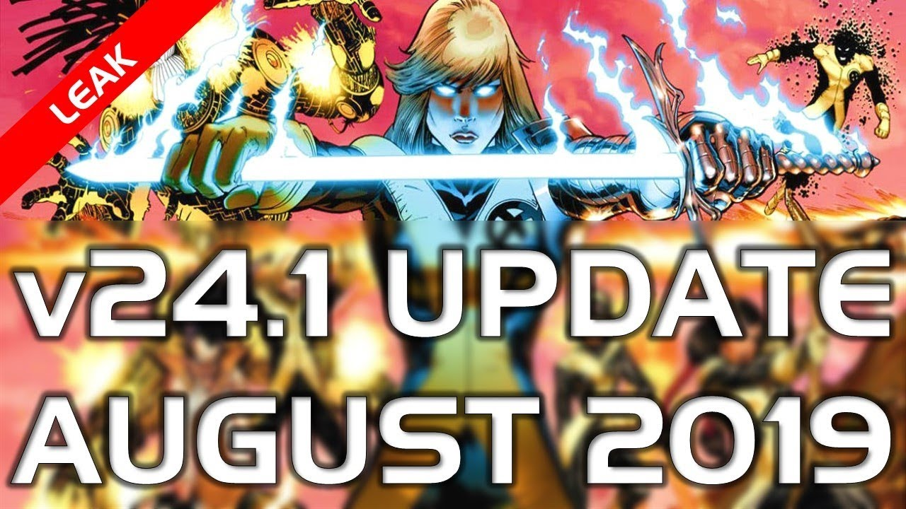 v24.1 Update MCoC August 2019   Leaked Champions [Spoiler]