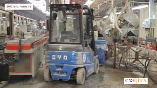Exagres: nueva flota de carretillas BYD Forklift