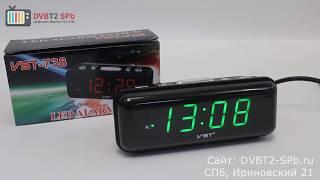 VST-738 - обзор электронных часов