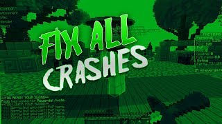 How To Fix All Minecraft Crashes!! (NEW LAUNCHER)