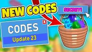 NEUE CODES BUBBLEGUM SIMULATOR UPDATE 23 - Roblox