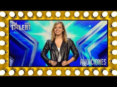 She ran away from Venezuela to chase her dream in Spain | Auditions 2 | Spain's Got Talent 2018