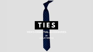 The Best Men's Ties & How To Wear/Match Them To Your Outfit, Height and Body Type