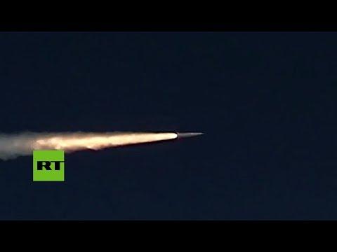 Prueba de un misil hipersónico aerobalístico ruso