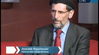 Arrival in Frankfurt, Interview with Amir Jamaat Germany, Jalsa Germany 2012 Preperations