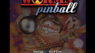 PSX Longplay [296] Worms Pinball