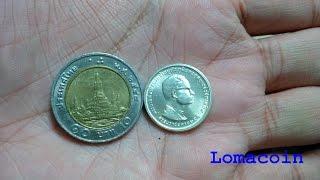 ราคาตอนนี้ 600 บาท เหรียญกษาปณ์ที่ระลึกรัชกาลที่ 9 ครองราชย์ ครบ 25 ปี
