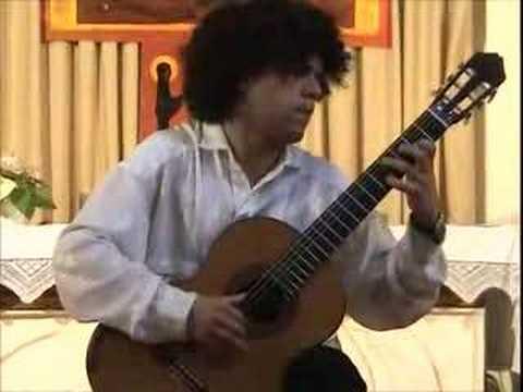 Judicael Perroy plays valses poeticos by Granados