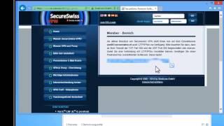 VPN (L2TP) Einrichten unter Windows 8