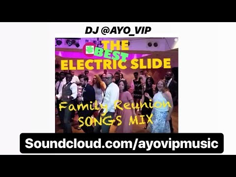 New Beyonce! BEST Line Dance BLACK BBQ ELECTRIC SLIDE songs Family Reunion PLAYLIST @ayo_vip