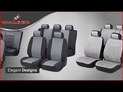 Walser Car Seat Covers - YouTube