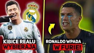 Kibice Realu CHCĄ Lewandowskiego, Ronaldo WPADA W FURIĘ, a Piątek ODEJDZIE z Milanu