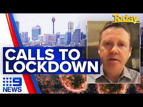 Coronavirus: Top doctor calls for greater Sydney lockdown | 9 News Australia thumbnail
