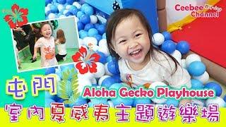[親子Vlog]Ceebee| 3yrs | 屯門夏威夷主題 室內遊樂場 indoor Playhouse