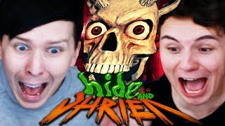 THE JUMPSCARE SHOWDOWN - Dan vs. Phil: Hide and Shriek