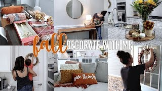 FALL DECORATE WITH ME | NEW FALL DECOR