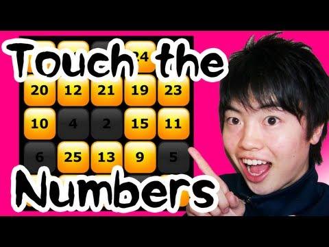 【ハマる】簡単そうで難しい Touch the Numbers!