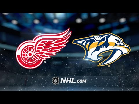 Witkowski, Mrazek lead Red Wings past Predators, 3-1