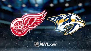 Luke Witkowski scored his first career NHL goal, Petr Mrazek made 3...