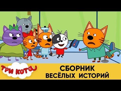 Три Кота | Сборник веселых историй | Мультфильмы для детей