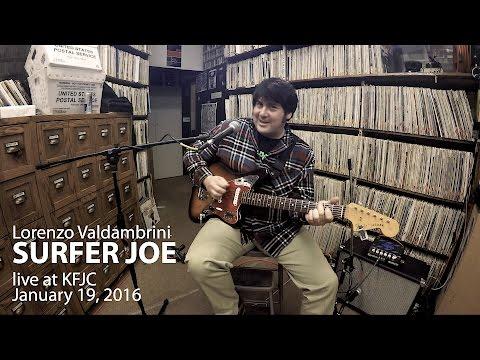 Surfer Joe & Band live at KFJC - California 2016